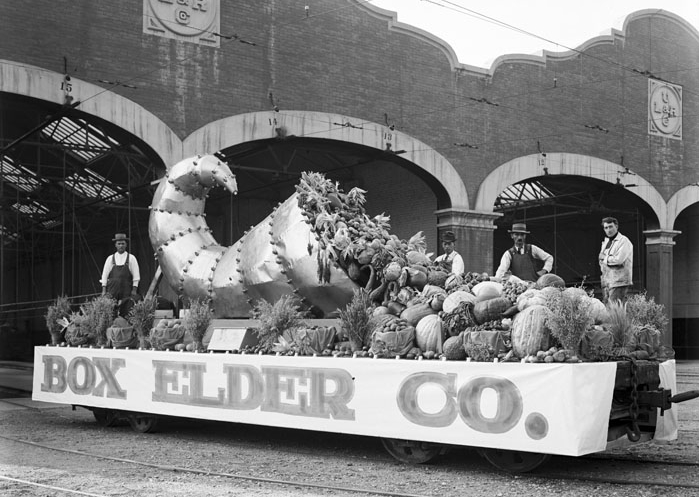 12. When the produce on your float was actually real produce.