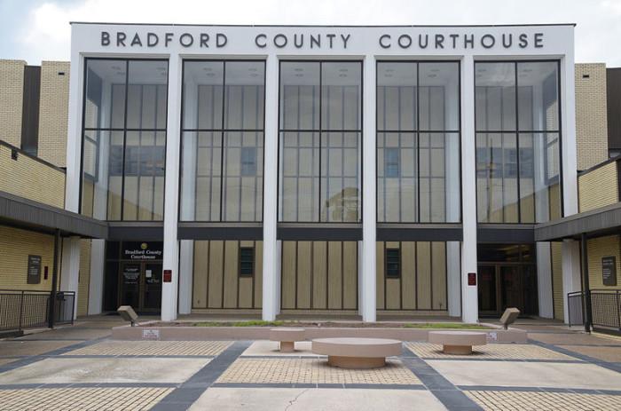 6. Bradford County: 42.10 / 10,000