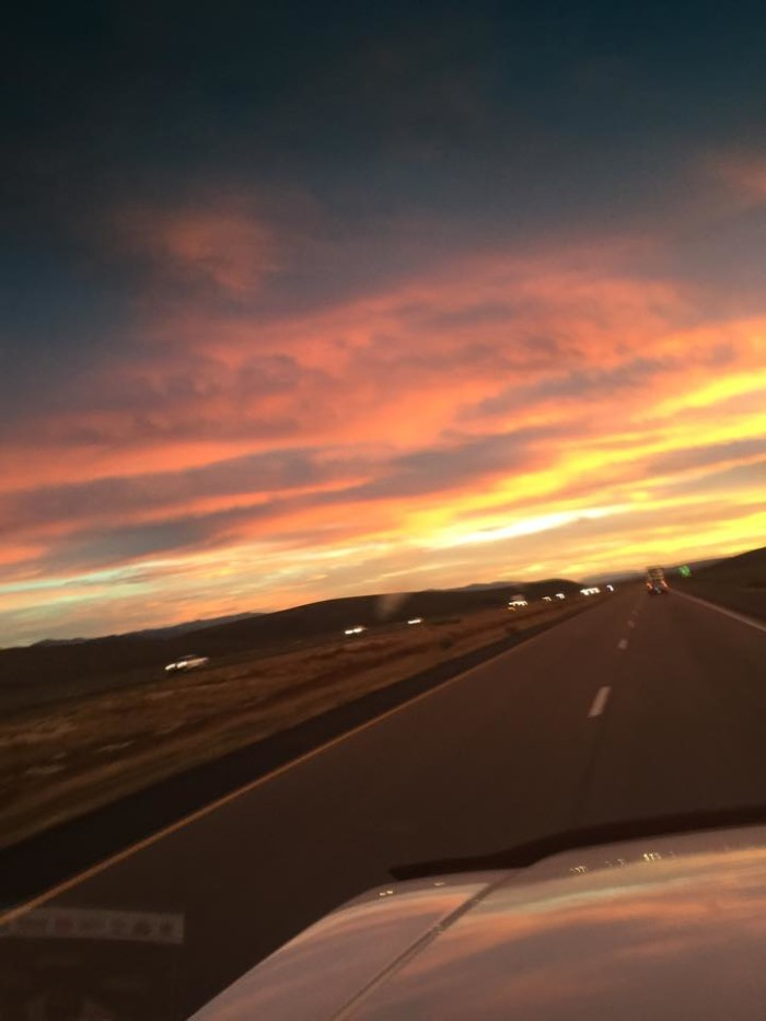 10. Brent Nelson proves that you can even find beauty from Utah's freeways! This shot was taken near Parowan, on I-15.