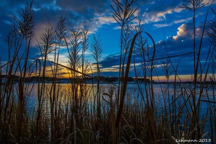 8. Sunset in Brielle, taken by Harold Lehmann.