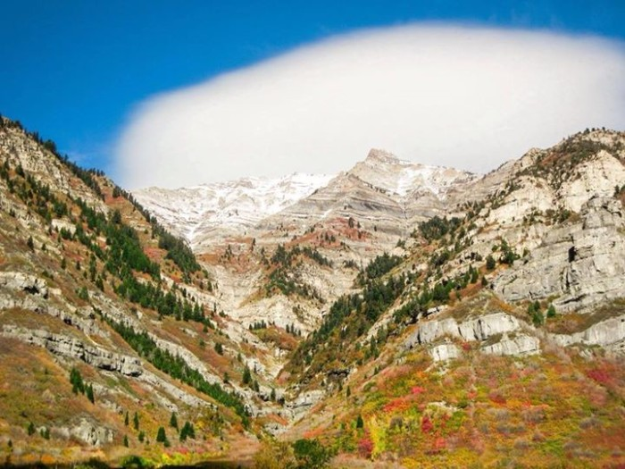 2. Brook Patrick took this photo of Provo Canyon.