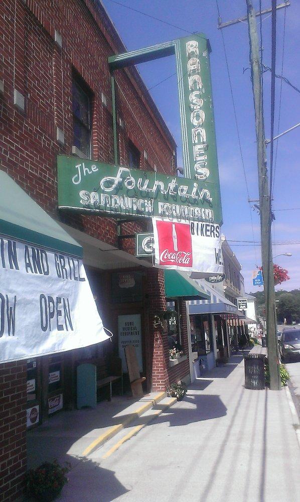 6. Buchanan Grille Lunch Counter at Ransone's Drug Store, Buchanan