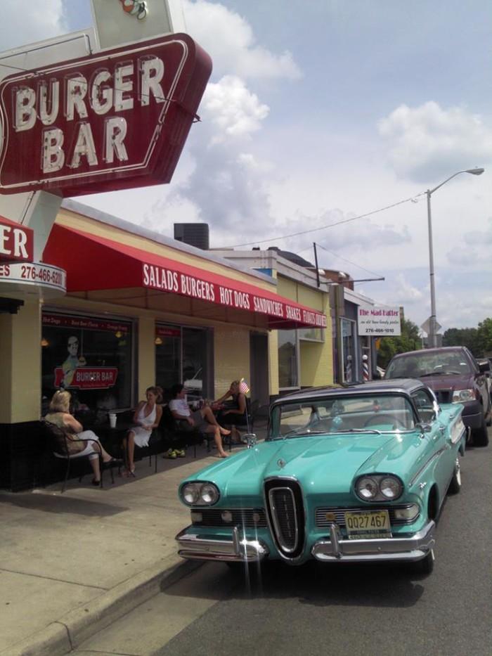 "5. The Burger Bar ""Burger Challenge"" - Bristol"