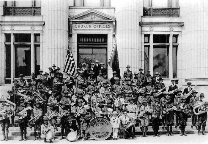 18. Back when you could get rid of your kid AND his tuba by sending him with the Boy Scouts.