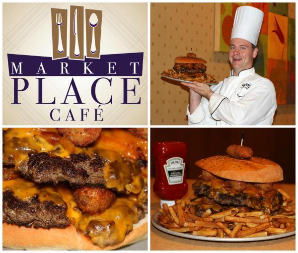 8) Big Burger Challenge, Market Place Café, Bossier City