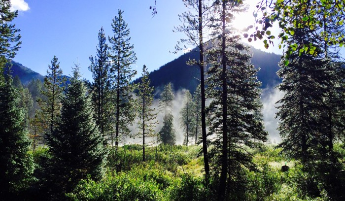 15. Cami Alexander captured this misty shot of Upper Weber Canyon.