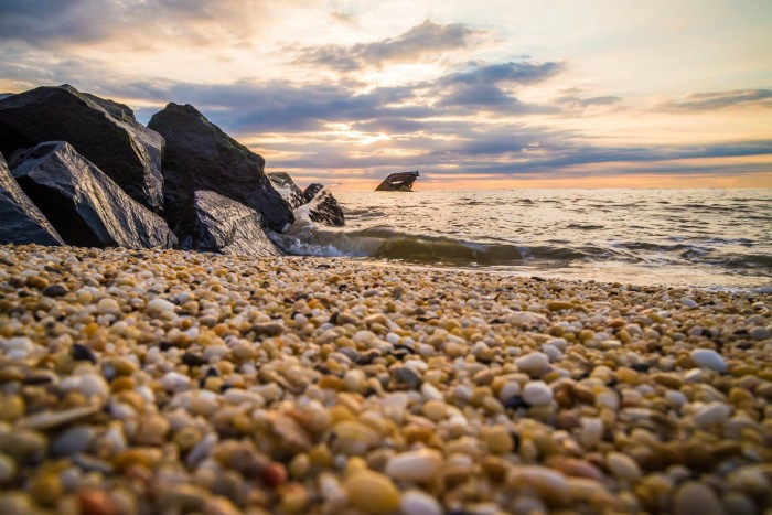 2. Sunset Beach in Cape May, shot by KGS Photo.