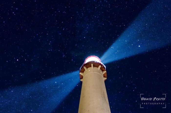 12. Cape May Lighthouse at night, taken by Dante Fratto.