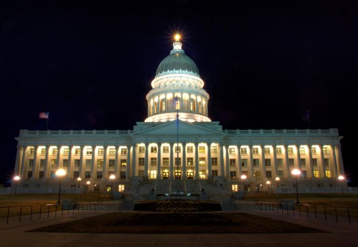 1. Utah State Capitol