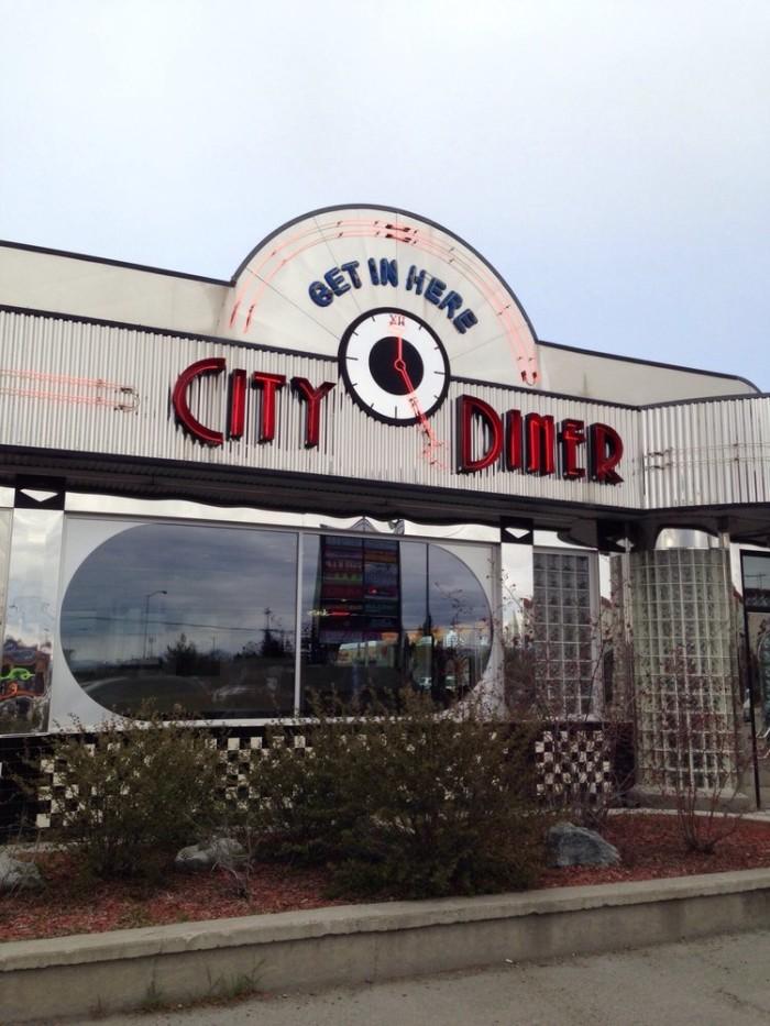 7) City Diner