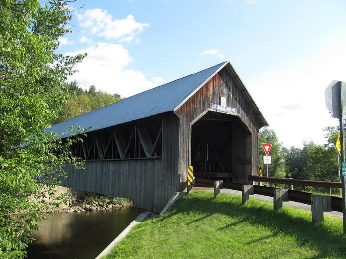 4.  Columbia Covered Bridge - Lemington.