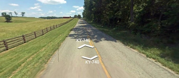7. Coral Hill Road, aka KY 740