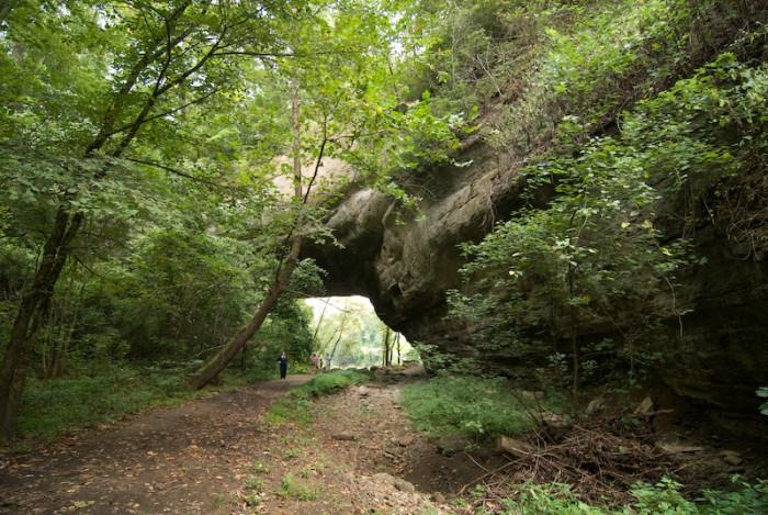 6. Creelsboro Natural Arch