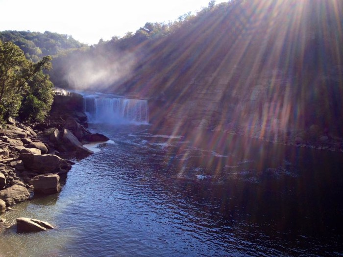 12. Cumberland Falls via Cathy and Michael Asher.