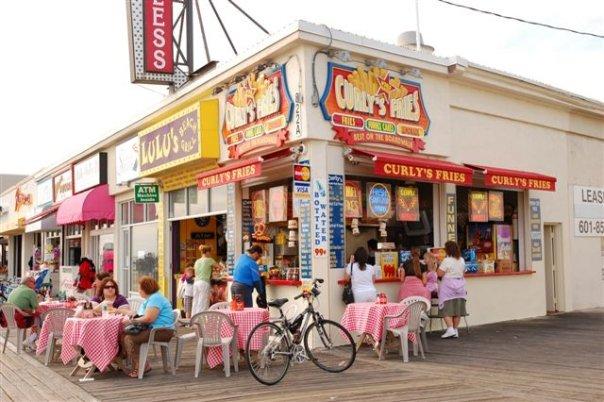 10. Curly's Fries, Ocean City