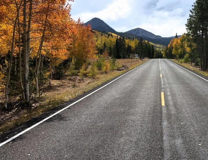10. Daniel Johnson shows us why it's a great idea to take a fall drive this weekend.