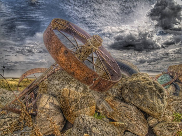 3. David LaBier shared this cool photo from the Fielding Garr Ranch at Antelope Island.