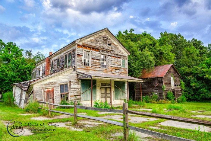 10. David took this amazing photograph of the old Keyserling General Store at McLeod Farms in Beaufort.