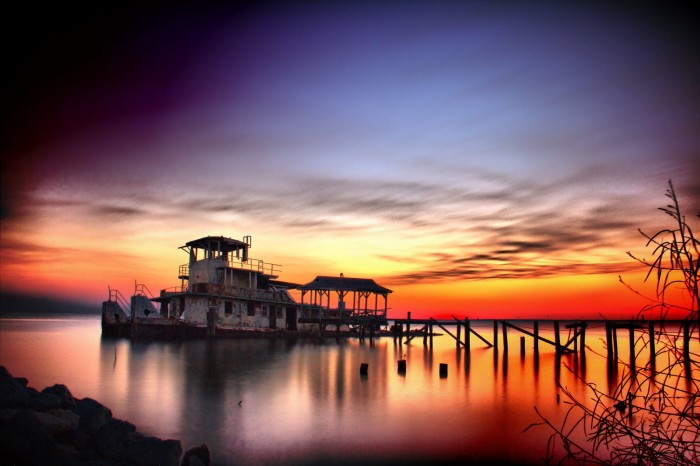 6) Derelict on the Northshore of Lake Pontchartrain by David Keith