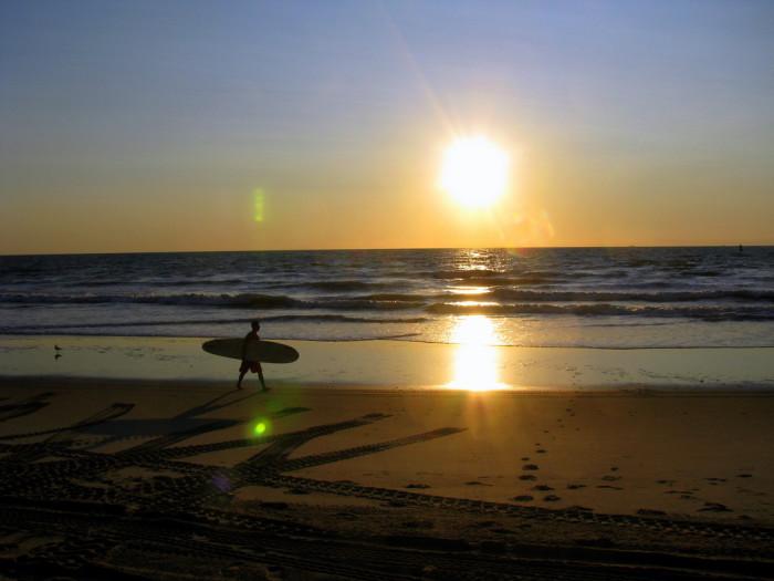 12. Dawn Patrol at Virginia Beach.