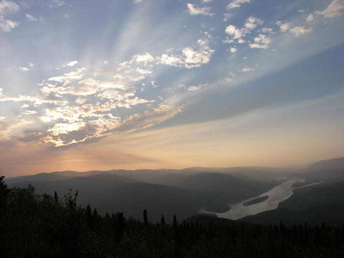 1) The Yukon River