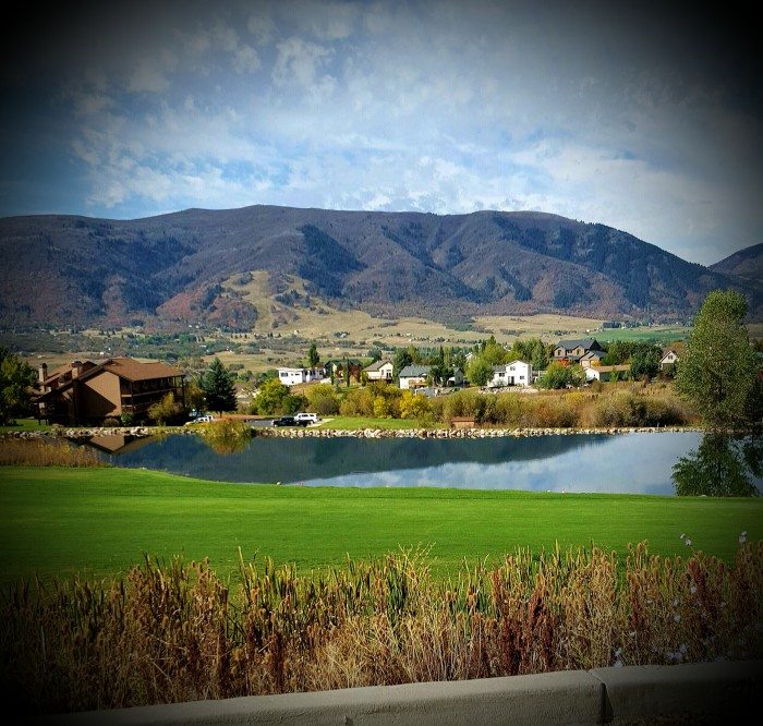 20. Debi Hunt shot this photo of Wolf Creek the first week in October.