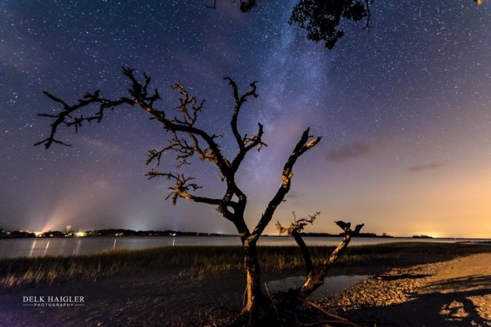 5. This is the last one in the series of the Milky Way photographs by Delk Haigler. If you would like to see more of his work you can visit him on his facebook page: Delk Haigler Photography.