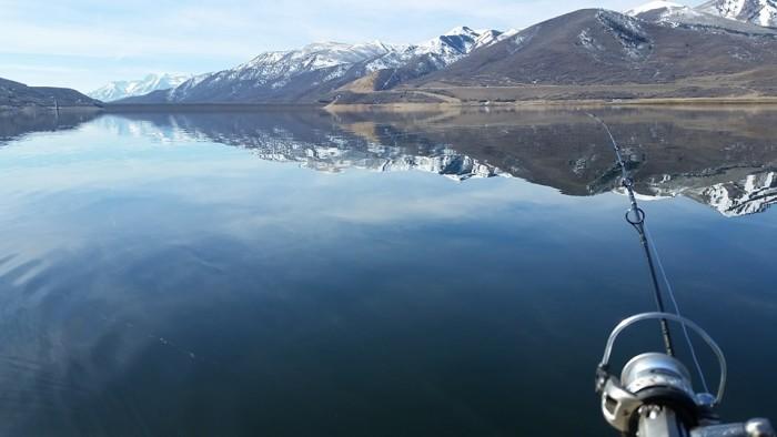2. Derek VonHatten shared this photo of fishing at the Jordanelle Reservoir.