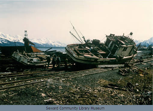 4) Destruction from the 1964 Earthquake