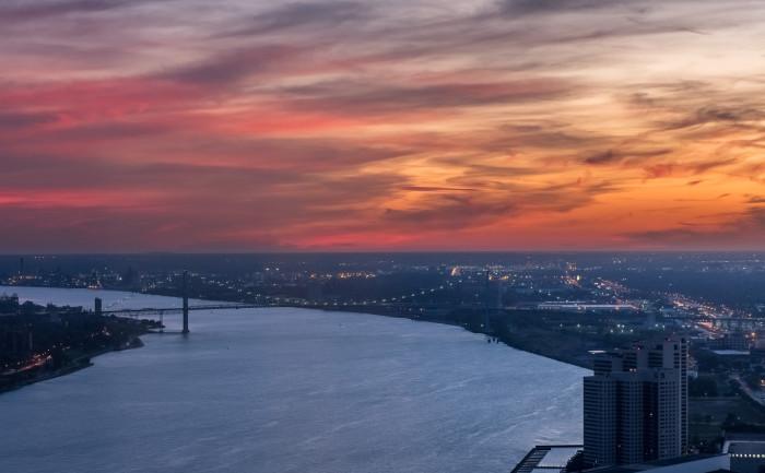11) Detroit River