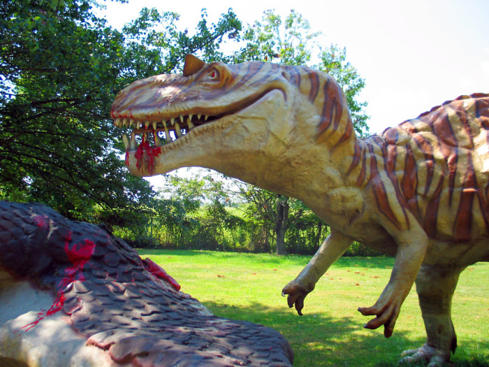 Dinosaurland eating