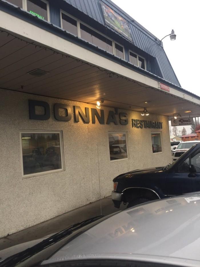 6) Donna's Restaurant