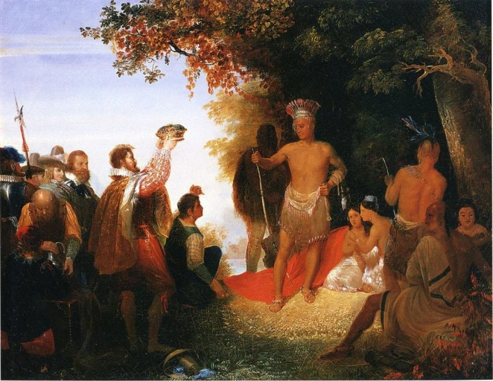2. The first colonists came to Jamestown, not as planters, but with the intent of taking gold, silver and other natural resources from the natives.