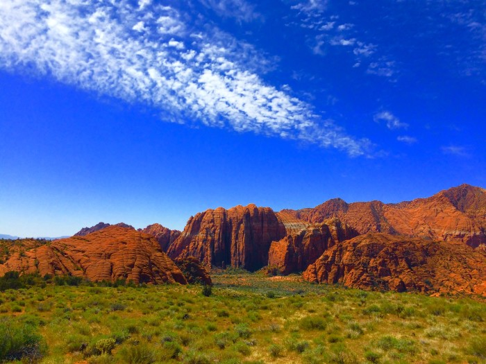 1. Elizabeth Richards went hiking in St. George and came home with this amazing shot.