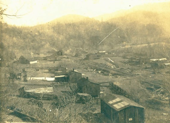 8) Here's little Elkmont, around the time of the famed fire