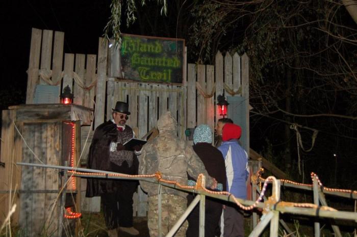 1. Emmons Island Haunted Trail, Grand Isle