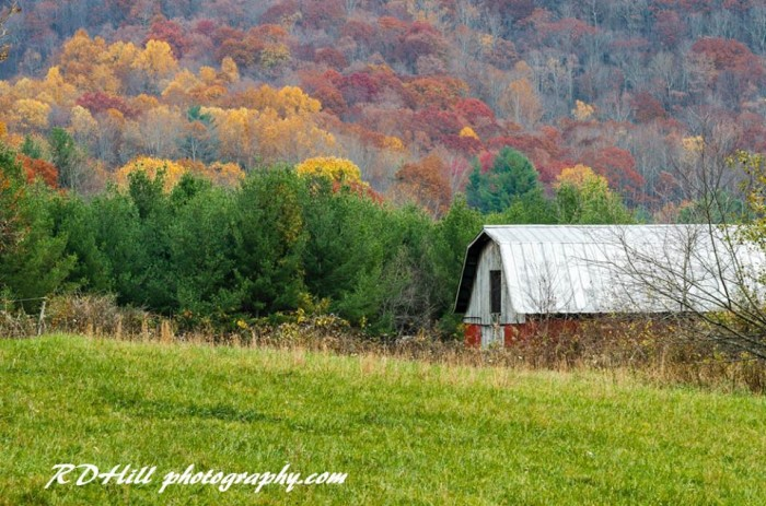 13. I can't get enough of the fall colors - and no one caught it better than Richard Hill of RD Hill Photography.