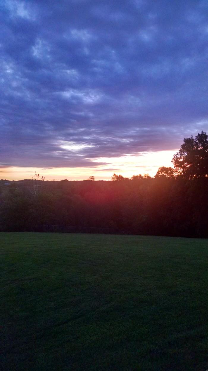 11. Falmouth sunrise via Margie King,