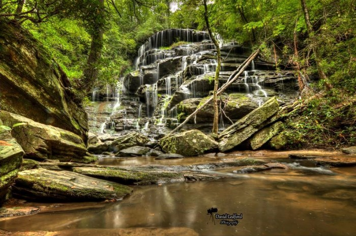 16. Yellow Branch Falls in Walhalla as they have never been seen before. Obviously, Fishhook knows photography.