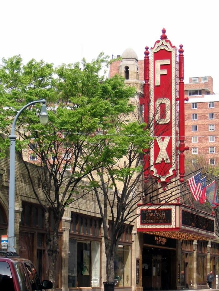 5. The Fox Theatre - 660 Peachtree St NE, Atlanta, GA 30308