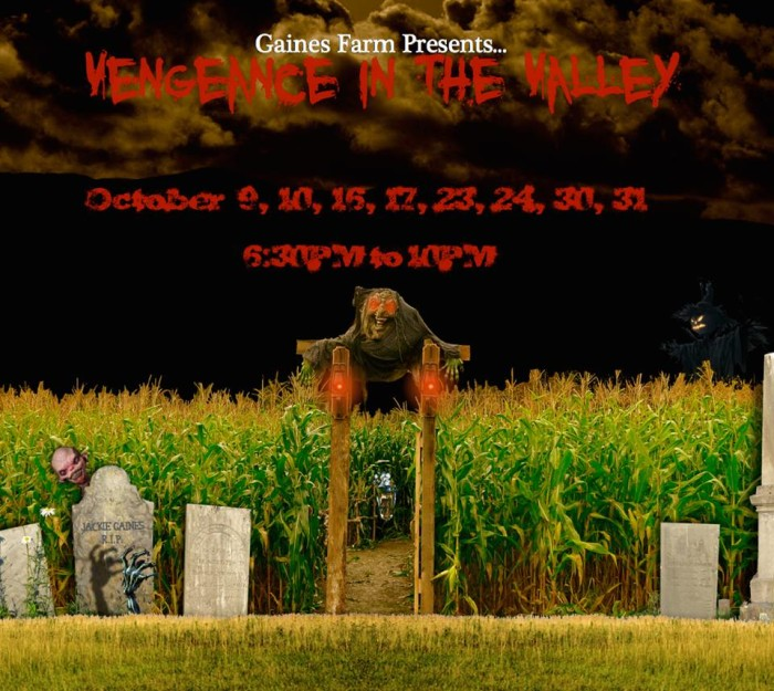 2. Gaines Farm's Vengeance In The Valley, Guilford