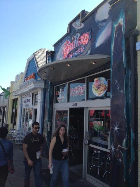 11. Galaxy Diner, Richmond