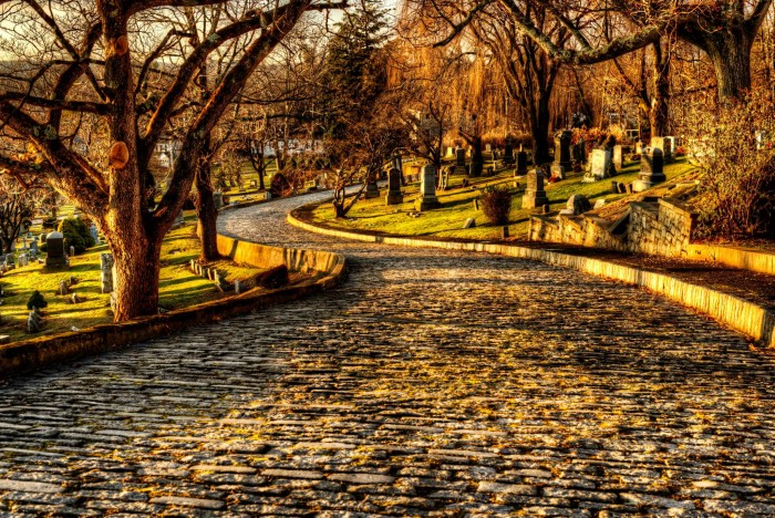 10. Who knew cemeteries could be so beautiful? Taken by Gary Aidekman.