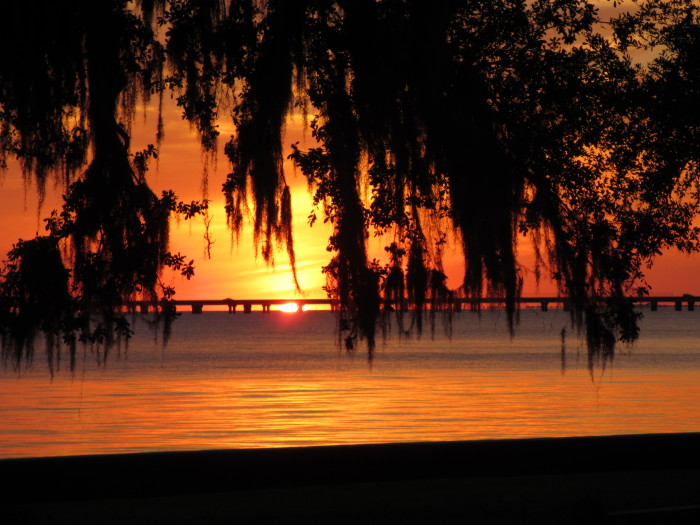 9) Sunset in Covington, LA by Ginny Dufrene
