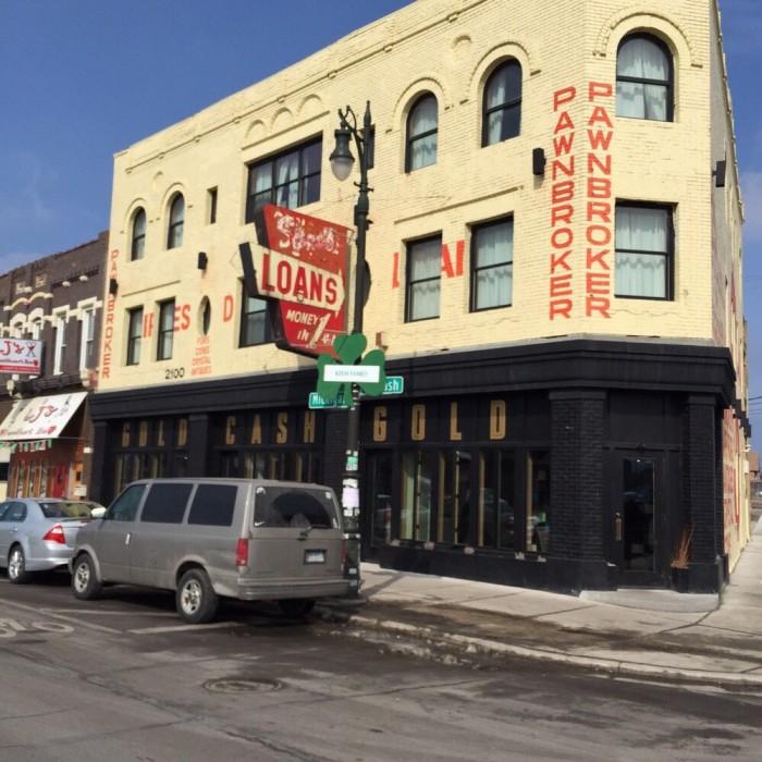 6) Gold Cash Gold, Detroit