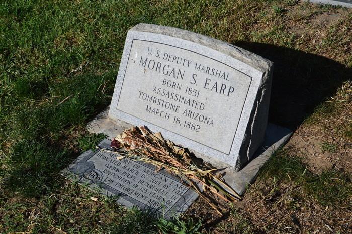 1. Morgan Earp, 1882