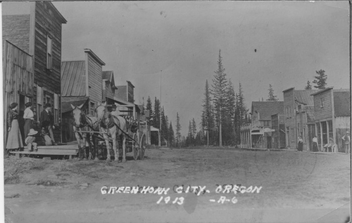 4. A ghost town called Greenhorn once had its jail stolen.
