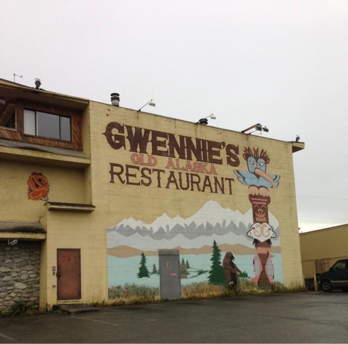 8) Gwennie's Old Alaska Restaurant
