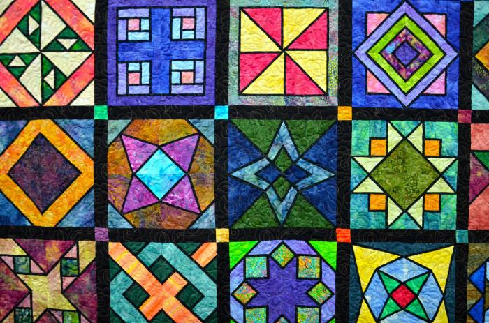 7. Handmade quilt
