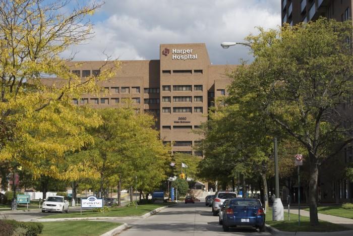 7) Harper University Hospital, Detroit